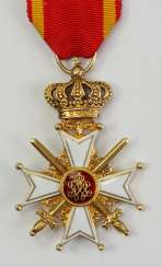 Baden: Grand of the order of Berthold the First, knight's cross with swords, Duke.