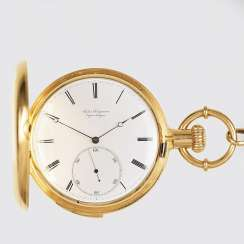 Cased watch with a small seconds and Repetition