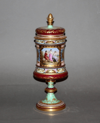 Vienna, the end of XIX century porcelain, painting