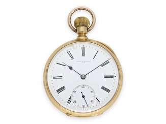 Pocket watch: very fine anchor chronometer Vacheron & Constantin No.145887, extremely rare factory quality, Geneva around 1875