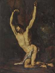 Julie Werkenthin (Haase-Werkenthin) - Martyrdom of St. Sebastian, verifiable before 1913
