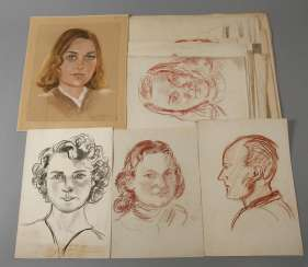Collection Of Portrait Drawings