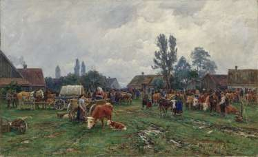 Summer Cattle Market