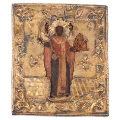 Icon Of St. Nicholas The Wonderworker Of Myra