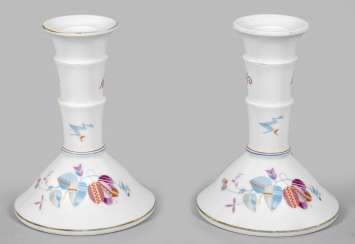 Pair of Art Deco candlesticks from the Service