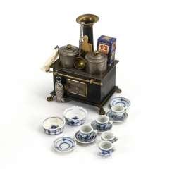Small dollhouse stove