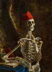 Skeleton with Fez