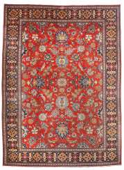 Signed Tabriz with Shah Abbas pattern, West Persia