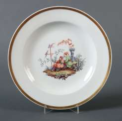 Plate with Chinoiserie Meissen
