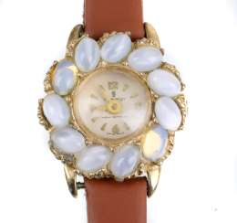 Ladies watch with moon stone