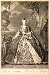 Marie Josephe, Queen of Poland, first-time voters, of Saxony, Archduchess of Austria