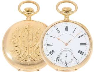 Pocket watch: largest and heaviest version of a Patek Philippe chronometer