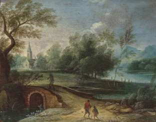 The Netherlands. Landscapes with figure staffage