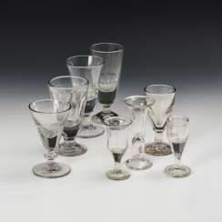 8 different goblets