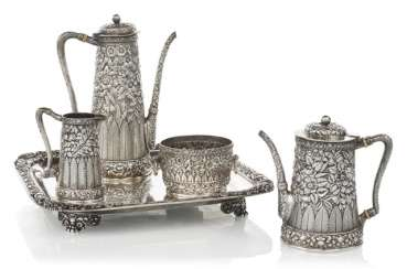 Coffee tea Service with tray