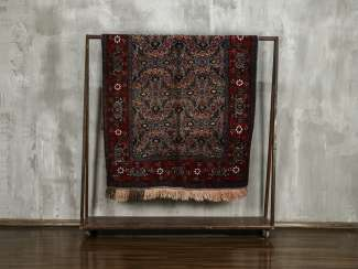 Antique Single Sided Pile Rug