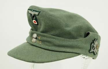Wehrmacht: field cap for mountain hunters.