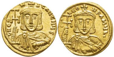 BYZANTINE EMPIRE SOLIDUS 741 - 751