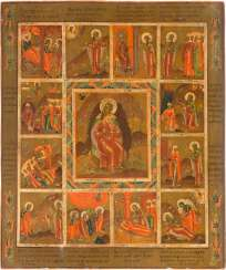 RARE AND LARGE VITA ICON WITH THE PROPHET ELIJAH