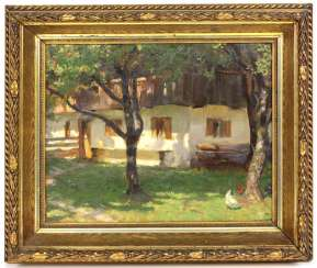 Farm house - unknown artist