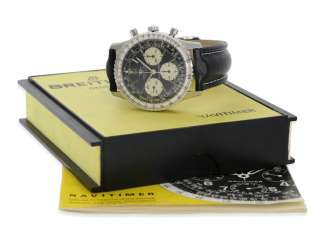 Watch: rare vintage Breitling Navitimer with Box and original papers, Ref. 806, CA. 1965-1969