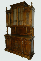 Carved sideboard in the style of Henry II, France