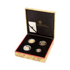Canada/GOLD-Lunar - Exclusive Set Lunar year of the dragon 2012,