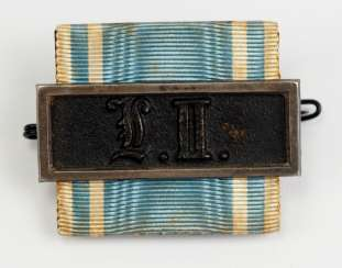 Bavaria: service badge buckle for 9 years, the non-commissioned officers.