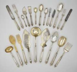 Cutlery for six persons, 65 parts