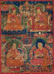 Four scholars from the Tradition of the Sakya-pa