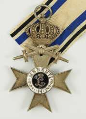 Bavaria: Military-Merit Cross, 2. Class with crown and swords.