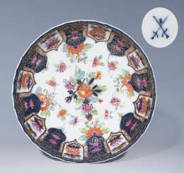 Baroque-Imari bowl, MEISSEN, around 1735