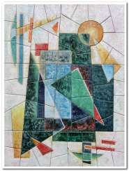 The memory of the Russian avant-garde 2 (part of triptych)