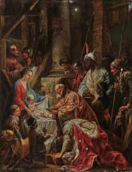 Johann Christian Thomas Wink (Winck), attributed to - Adoration of the Magi
