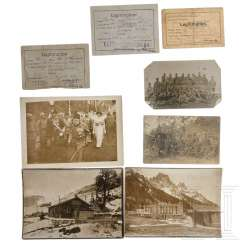 Austria - Group photos and documents Alpine Front 1914-18