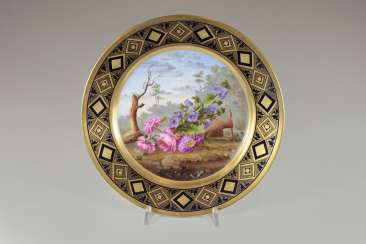 Ceremonial plate, early 19th century. Century