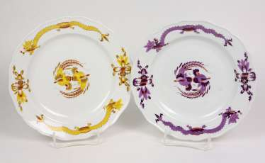 Meissen 2 Dinner Plates *Rich Dragon*