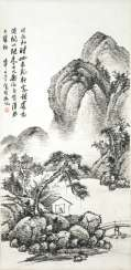 In the style of Wu Zheng (1878-1949)