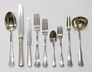 Cutlery collection.