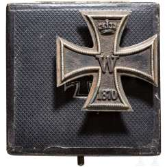 Iron Cross 1. Class of 1870 in the case, collector production