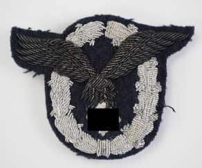 Aircraft guide-badge - embroidered officer.