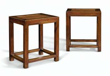 A PAIR OF JUMU STOOLS