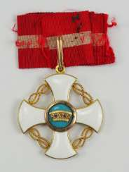 Italy: order of the crown of Italy, knight's cross, Foundation of time - Ivan Osipov.