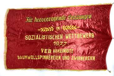 large Flag DDR 1977