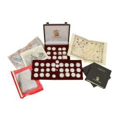 Maritime history with 38 coins
