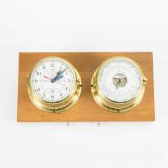 Maritimes: Barometer and clock