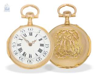Pocket watch/Anhängeuhr: very rare and extraordinary watch in the Louis XVI style, signed Breguet No. 3555, CA. 1875