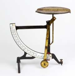 Letter scale 1920s