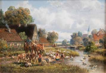 Idyll in the village