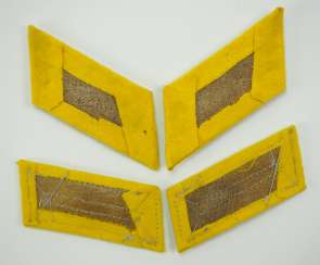 Wehrmacht: Pair of collar tabs for officers and men in the intelligence service.